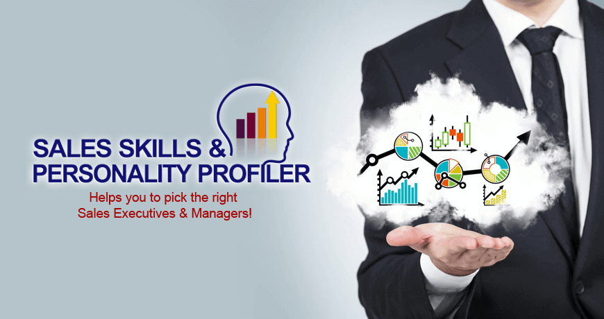 Online Sales skills and personality test for sales personnel